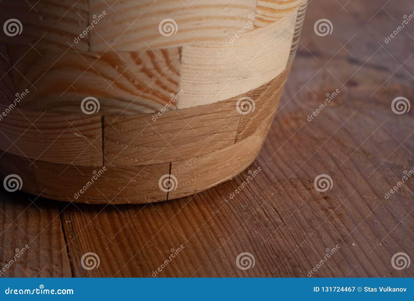 Vajilla de madera, primer de madera del modelo del fondo de la textura del tablero,
