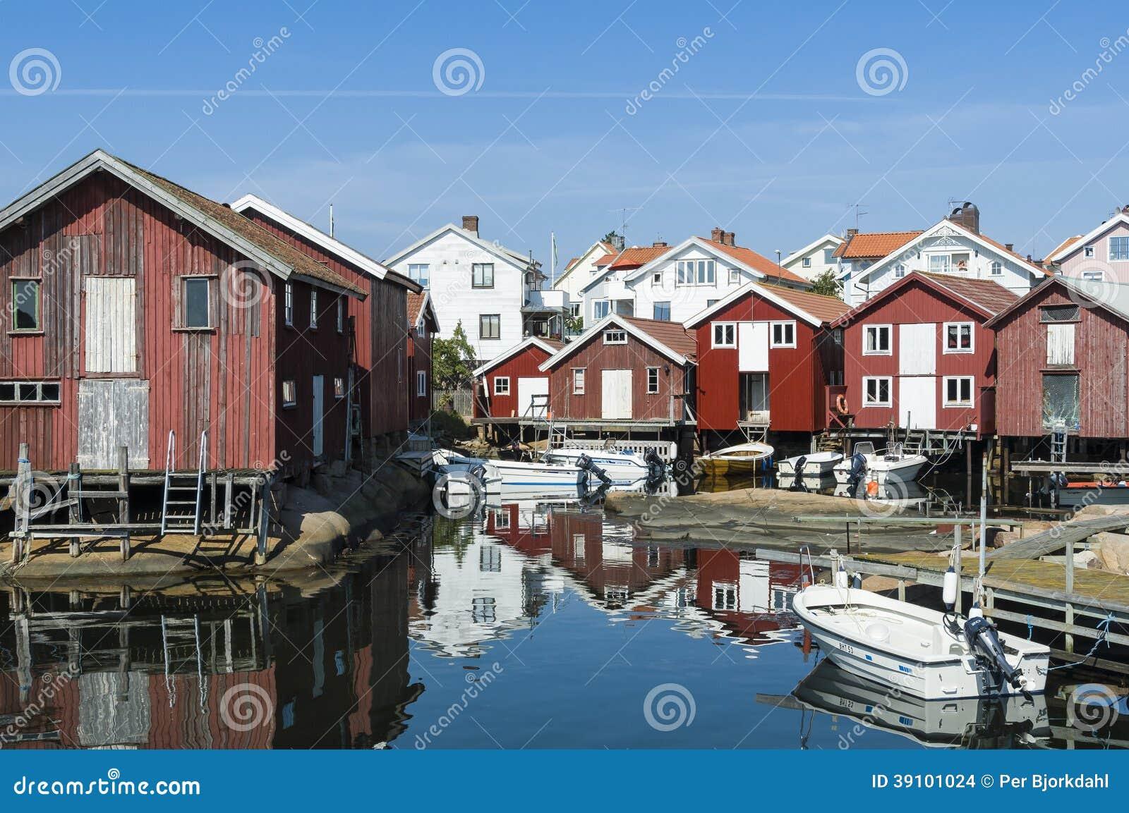 Vakantie en de residentual westkust van huizenzweden
