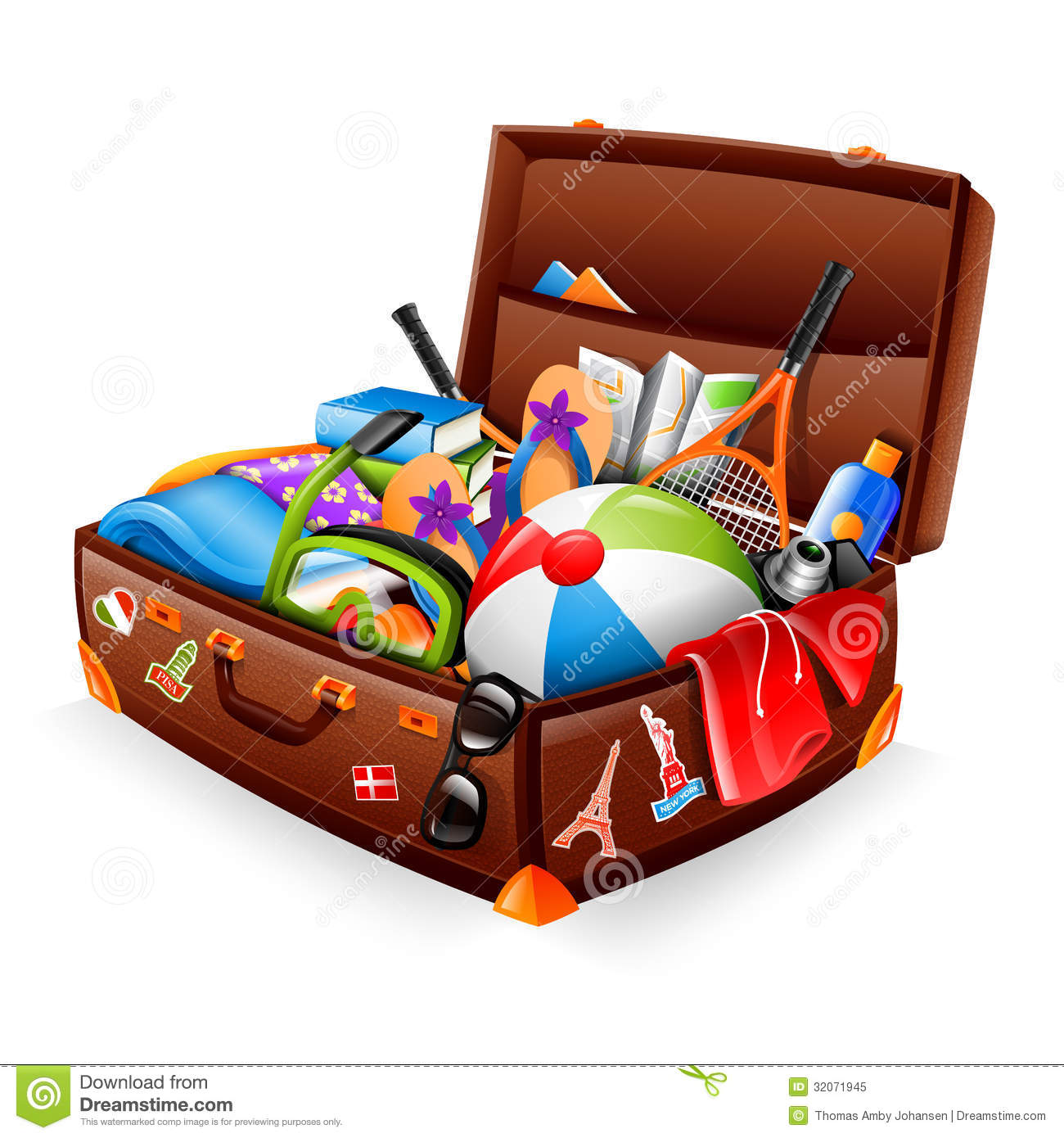 vakantiekoffer royalty vrije stock foto afbeelding 32071945 suitcase clipart images suitcase clipart open
