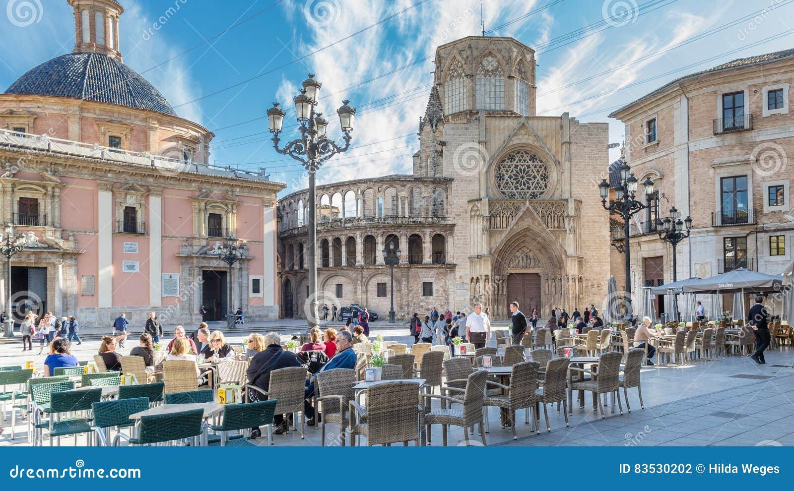 Valência, Espanha 2 de dezembro de 2016: Catedral Valência