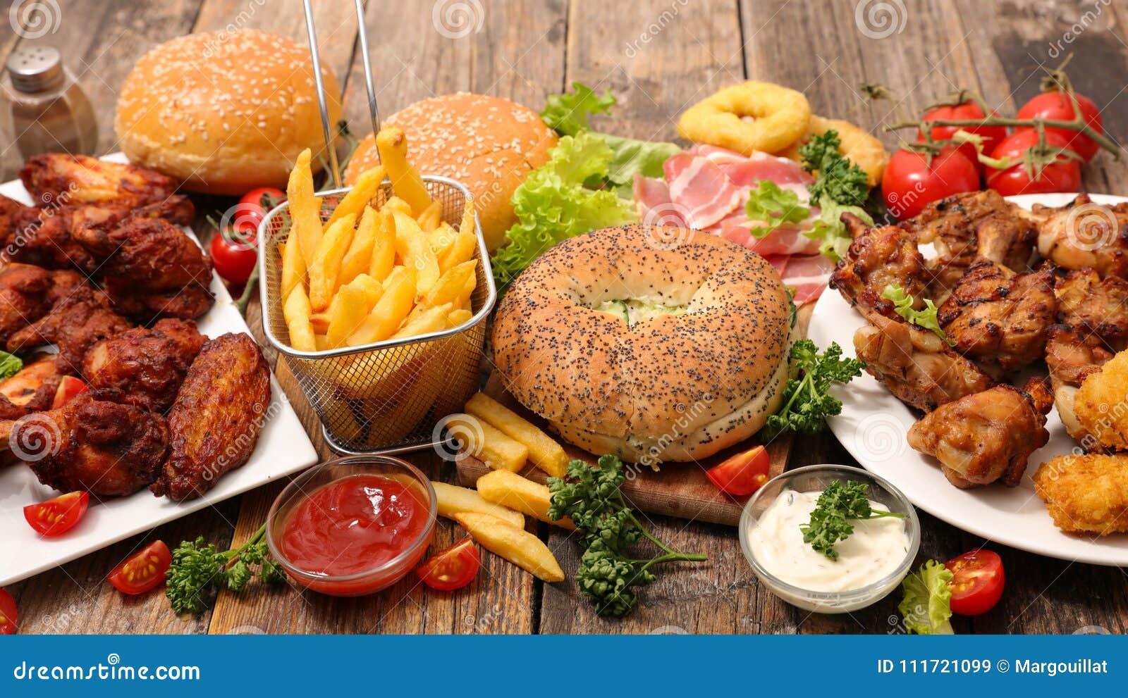 Val av amerikansk mat