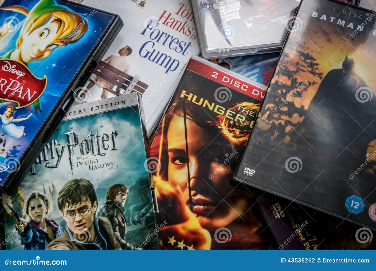 Val av DVDs