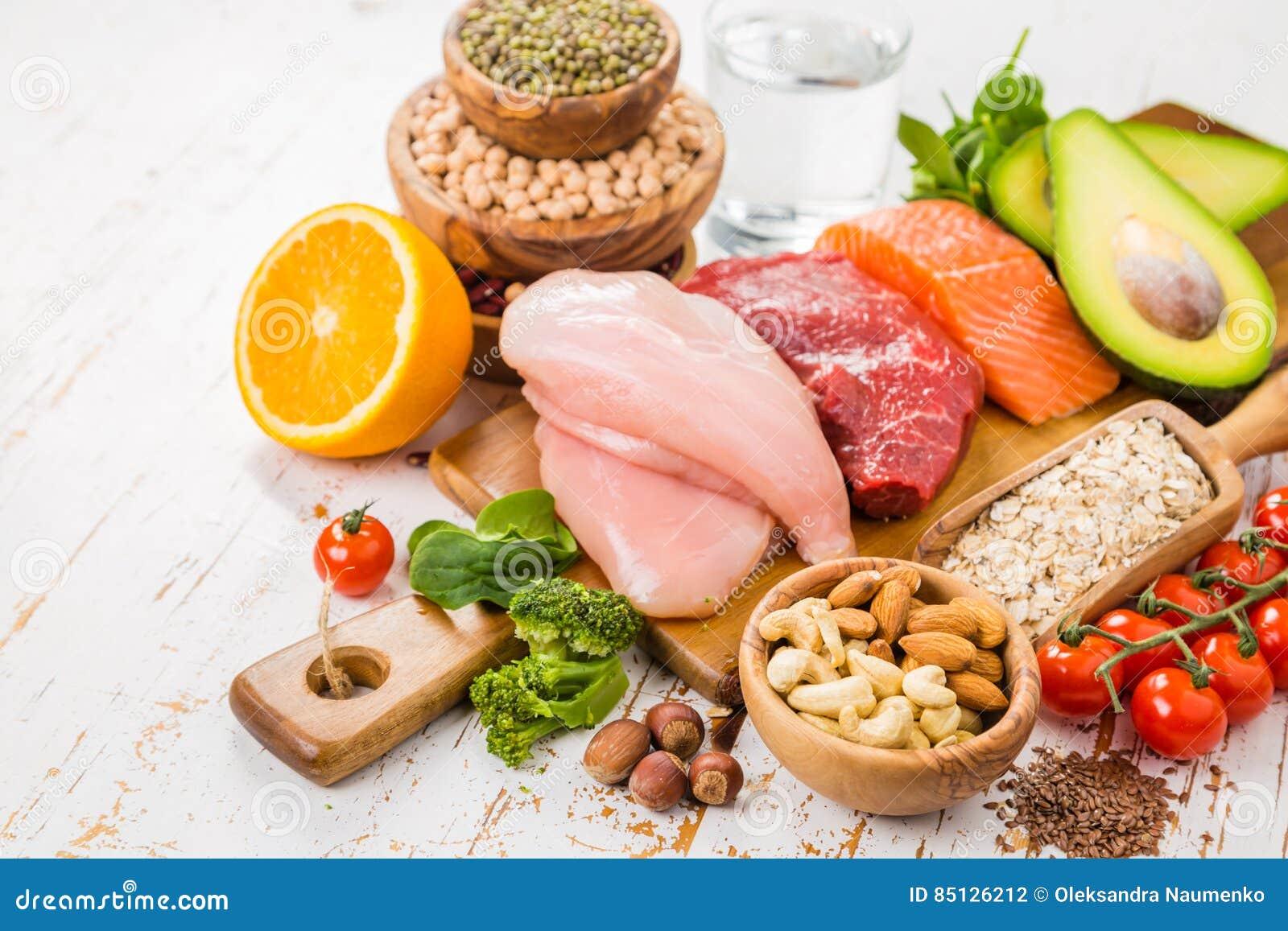 mat som är bra för huden