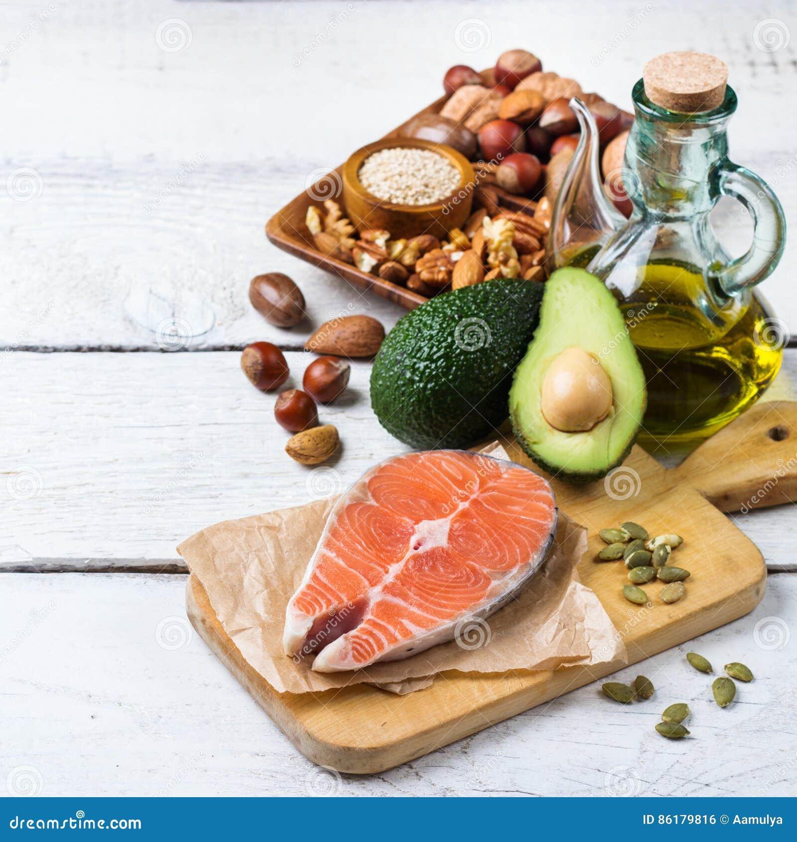 Val av sund fet källmat, livbegrepp