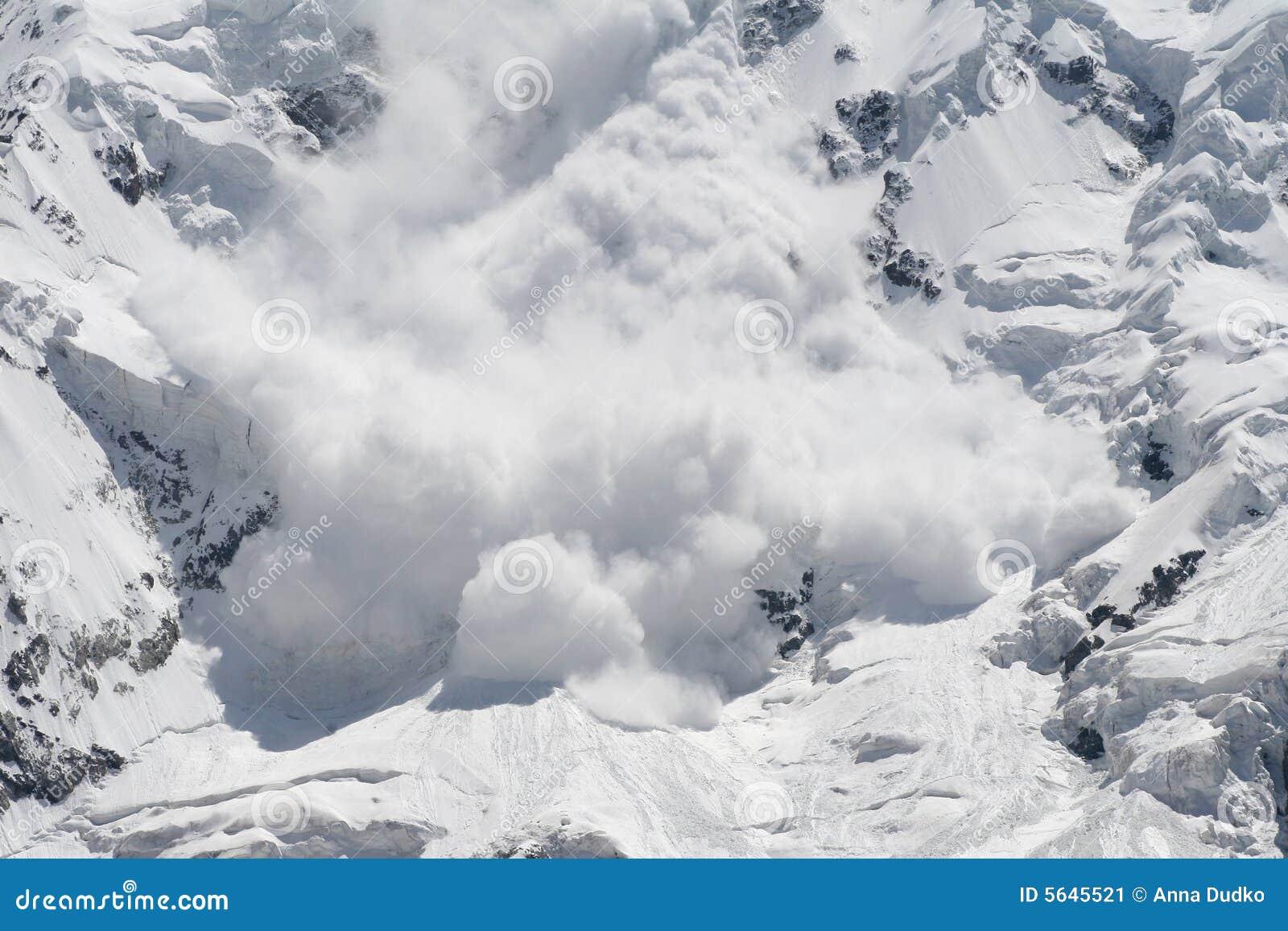 Valanga della neve