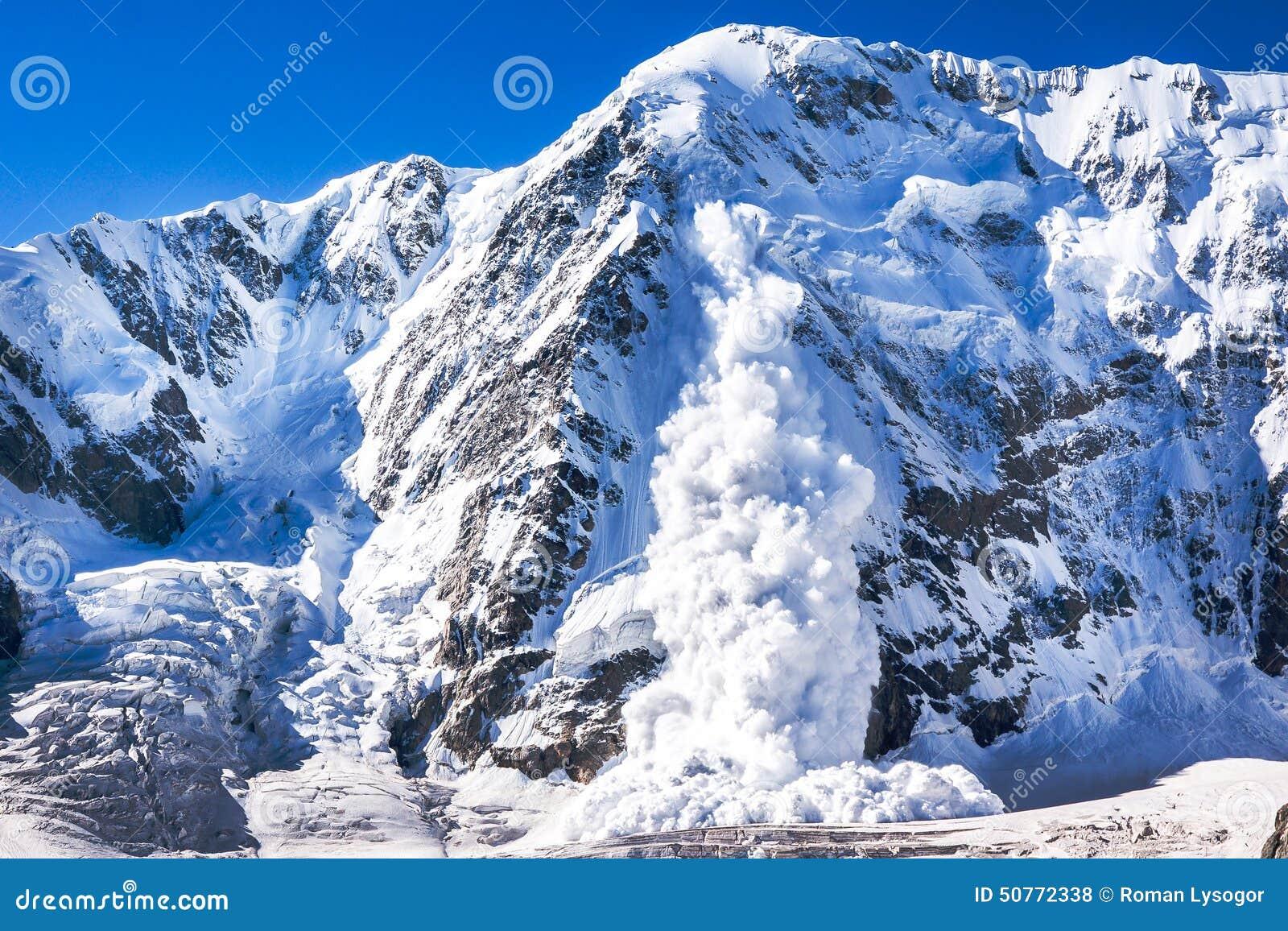 Valanga nel Caucaso