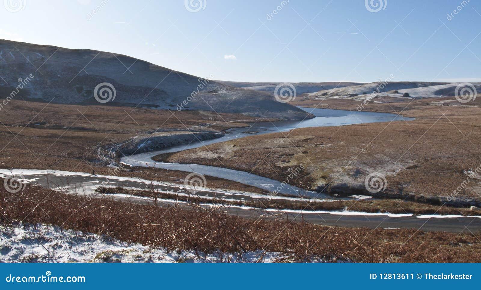 Vale da disposição, Rhayader, Powys