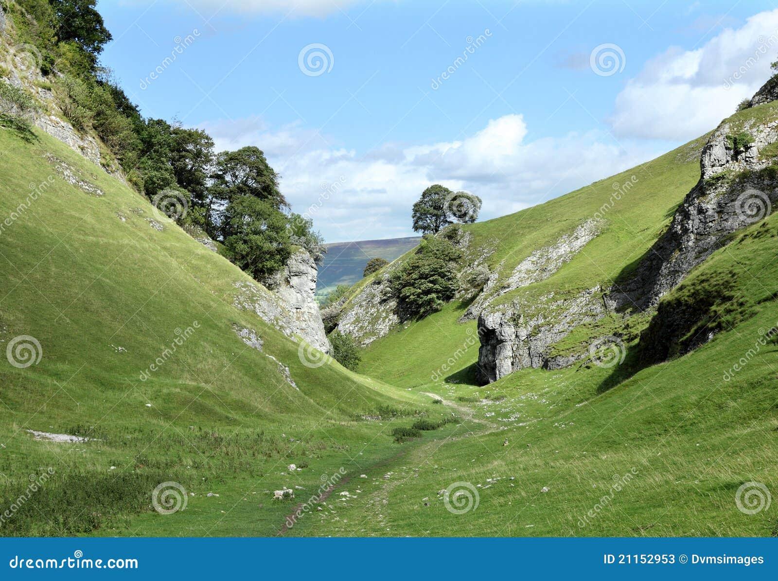 Vale da pedra calcária