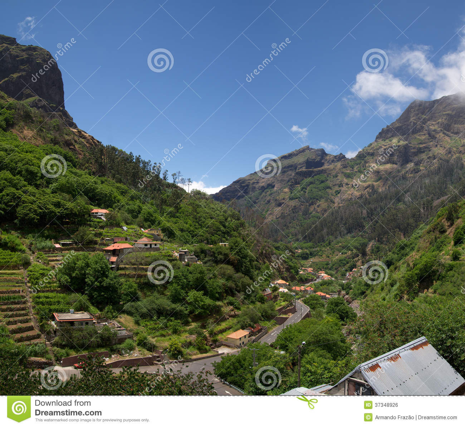 Vale de Curral DAS Freiras, Madeira