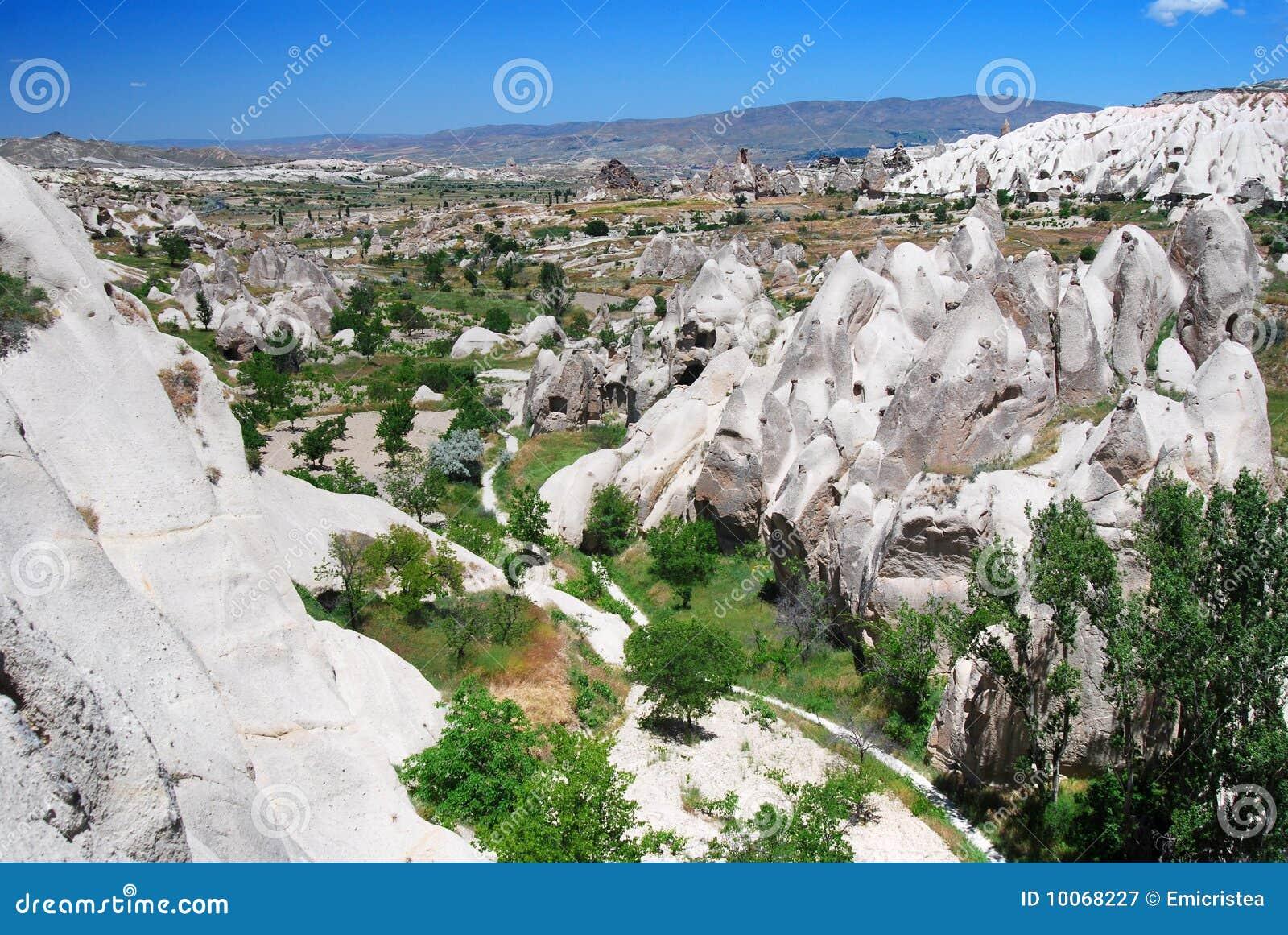 Vale de Kiliklar em Cappadocia