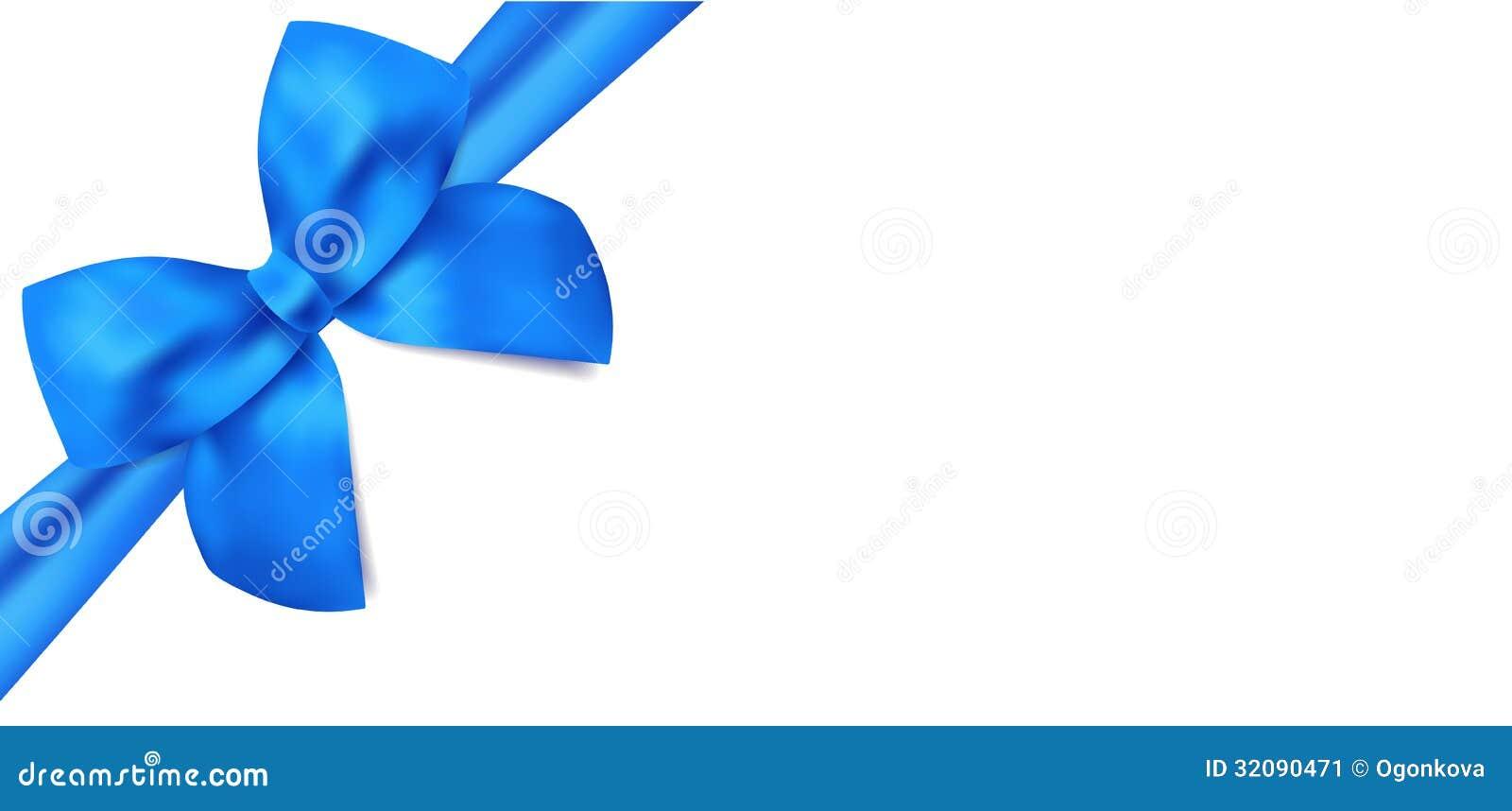 Vale de regalo/vale. Arco azul, cintas