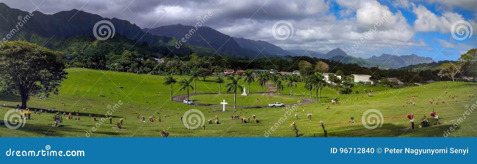 Vale dos templos Memorial Park, Oahu, Havaí