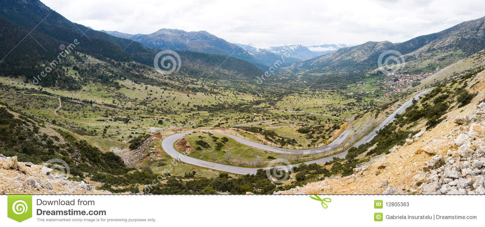 Vale perto de Lykouria