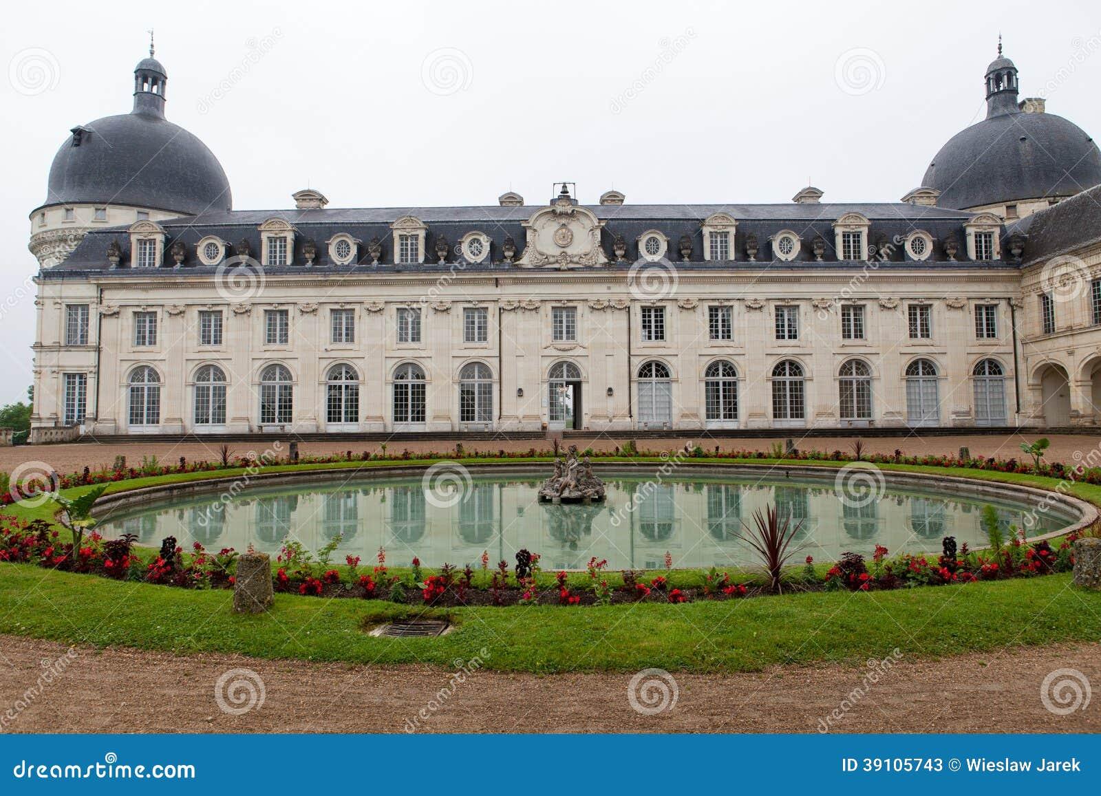 Valencaykasteel in de vallei van de Loire,