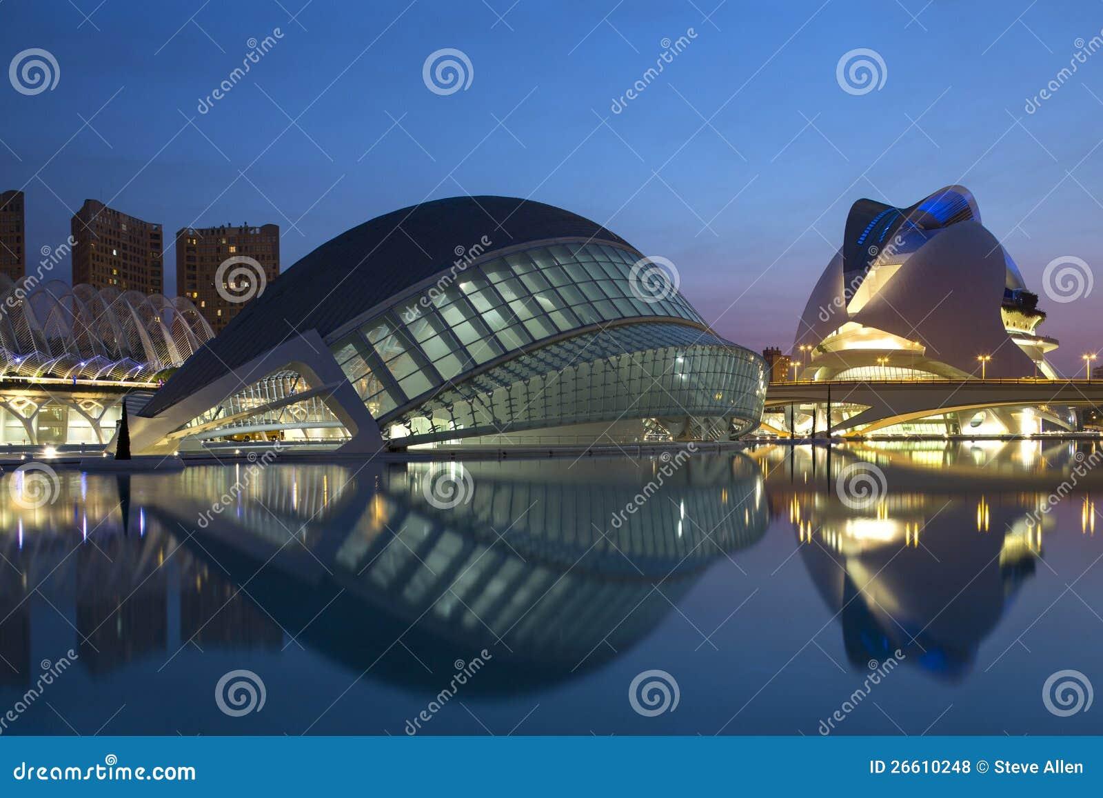 Valencia - City of Arts & Sciences - Spain
