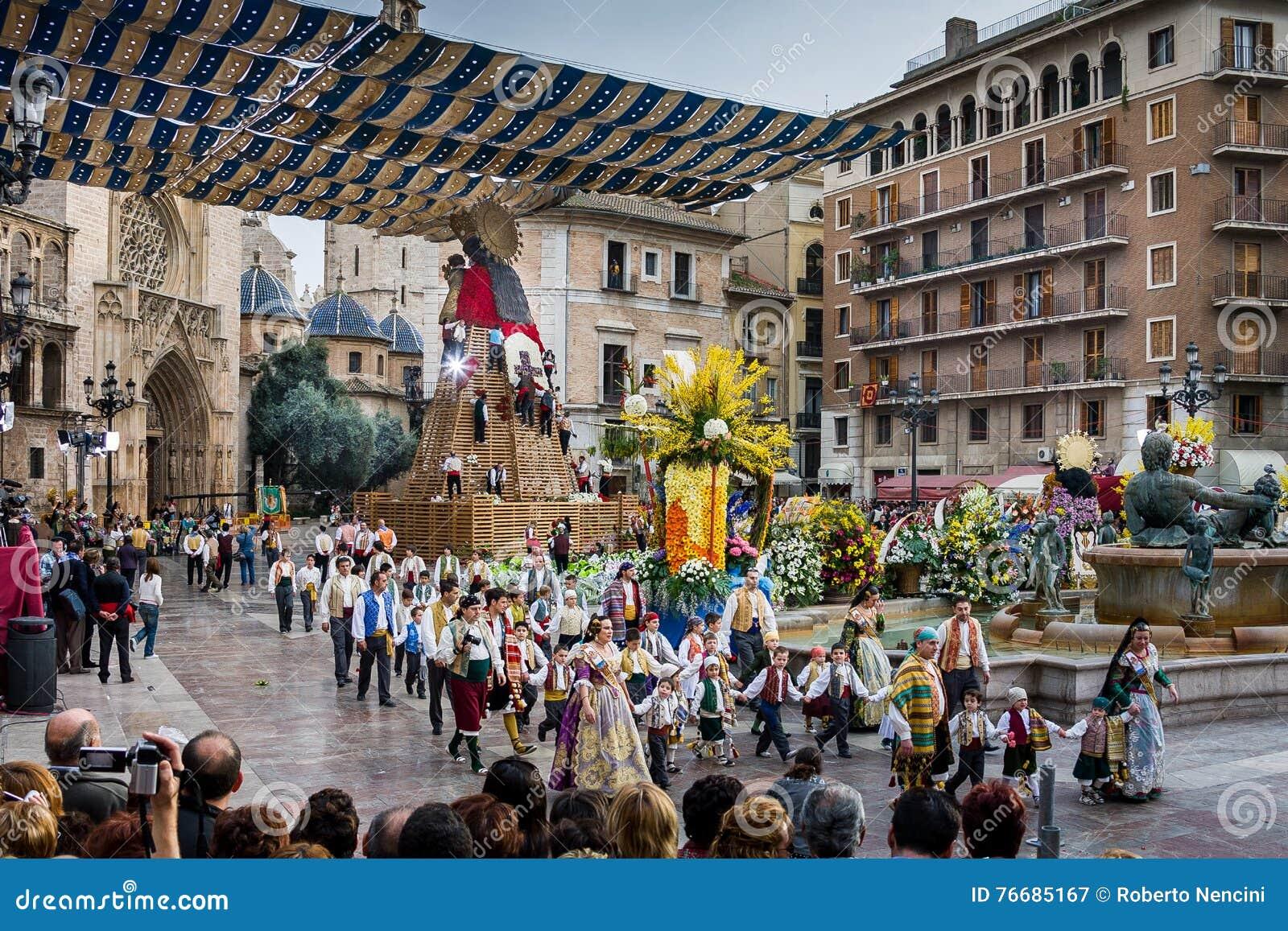Valencia, Spain, The Fallas Festival