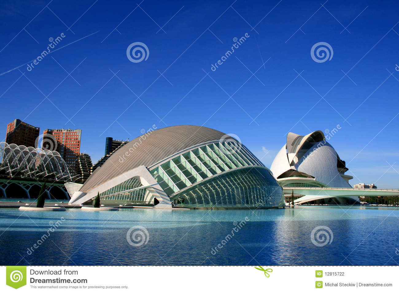 Valencia Modern Architecture Editorial Stock Photo Image 31869758