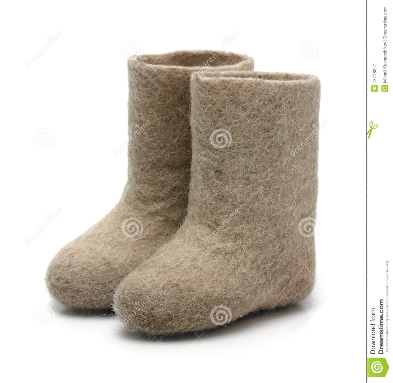 Valenki - Russian Felt Boots Royalty Free Stock Photography - Image ...