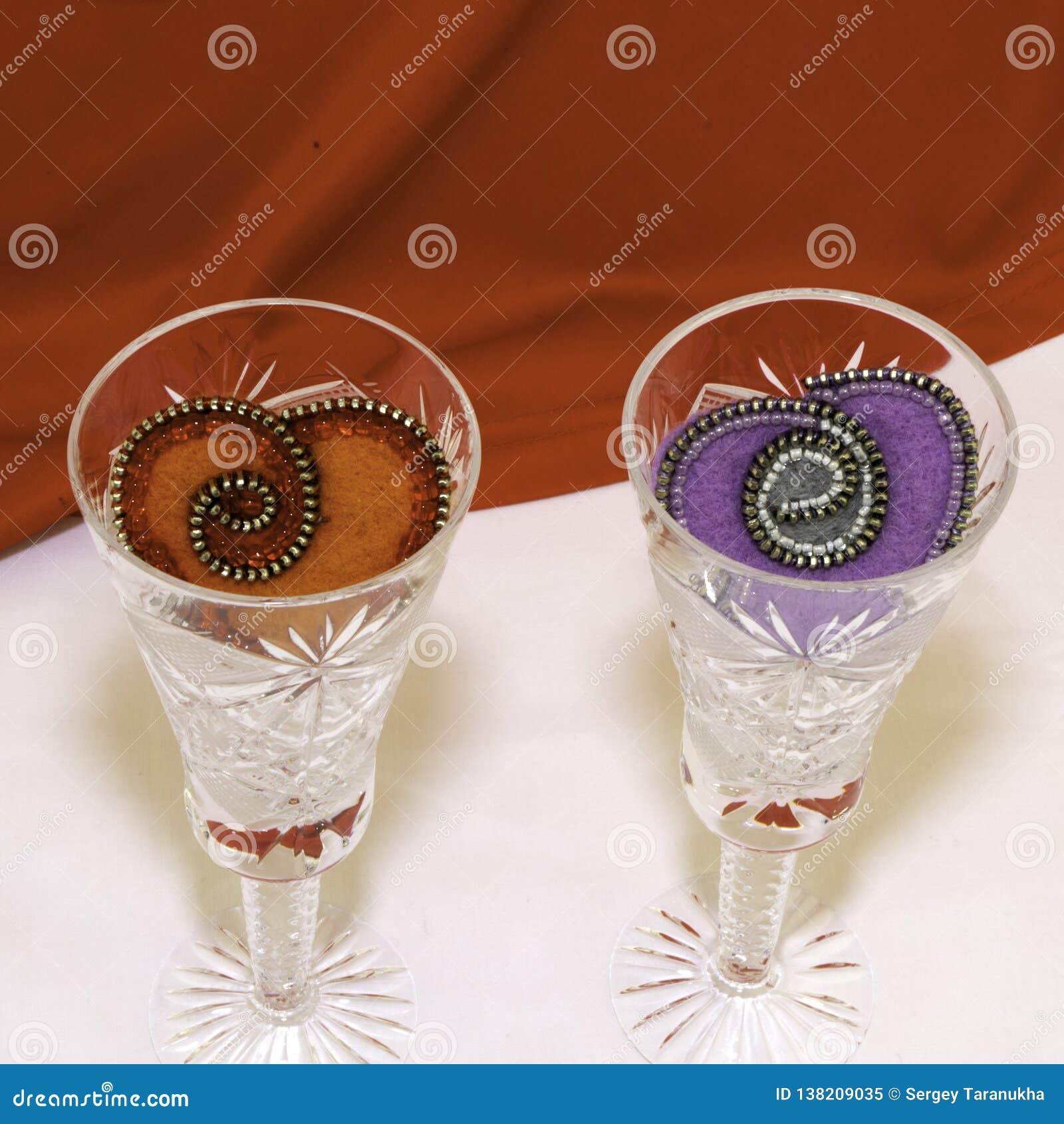 Valentin dag, handgjorda produkter från filt