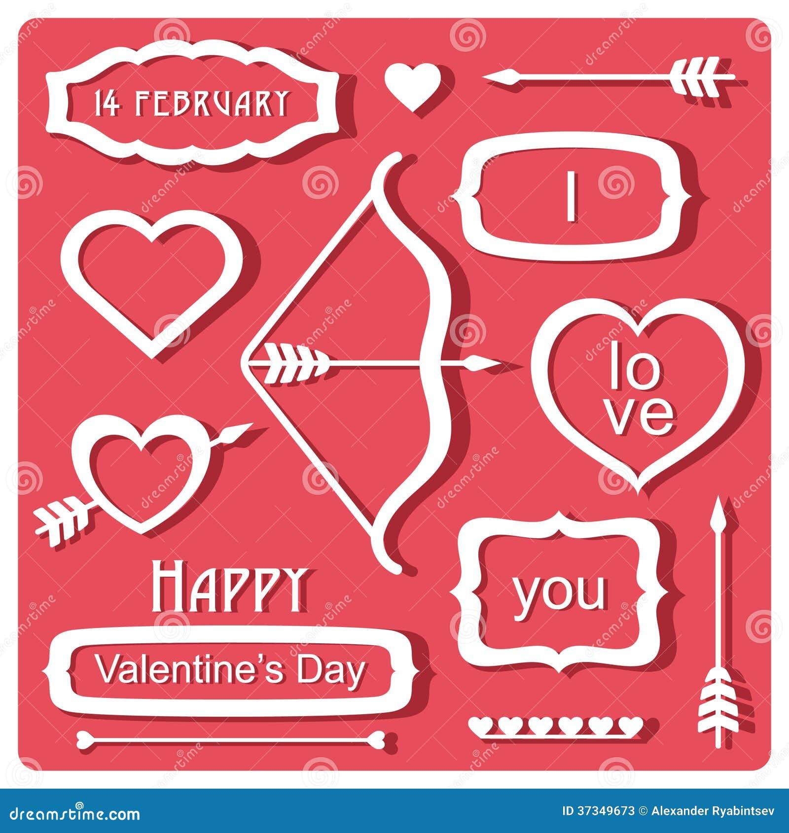 Valentin dagbeståndsdelar