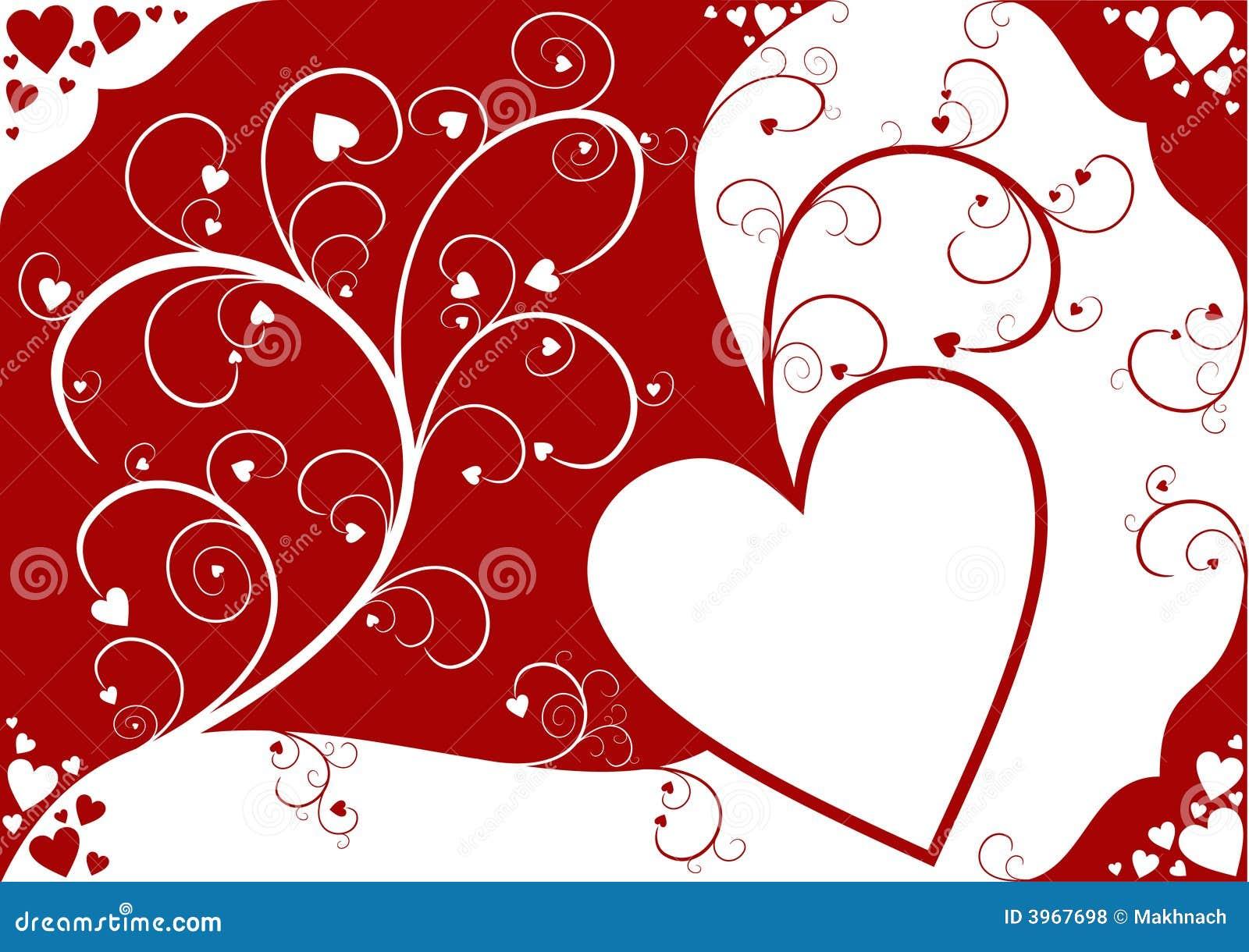 Valentin för bakgrundsdag s
