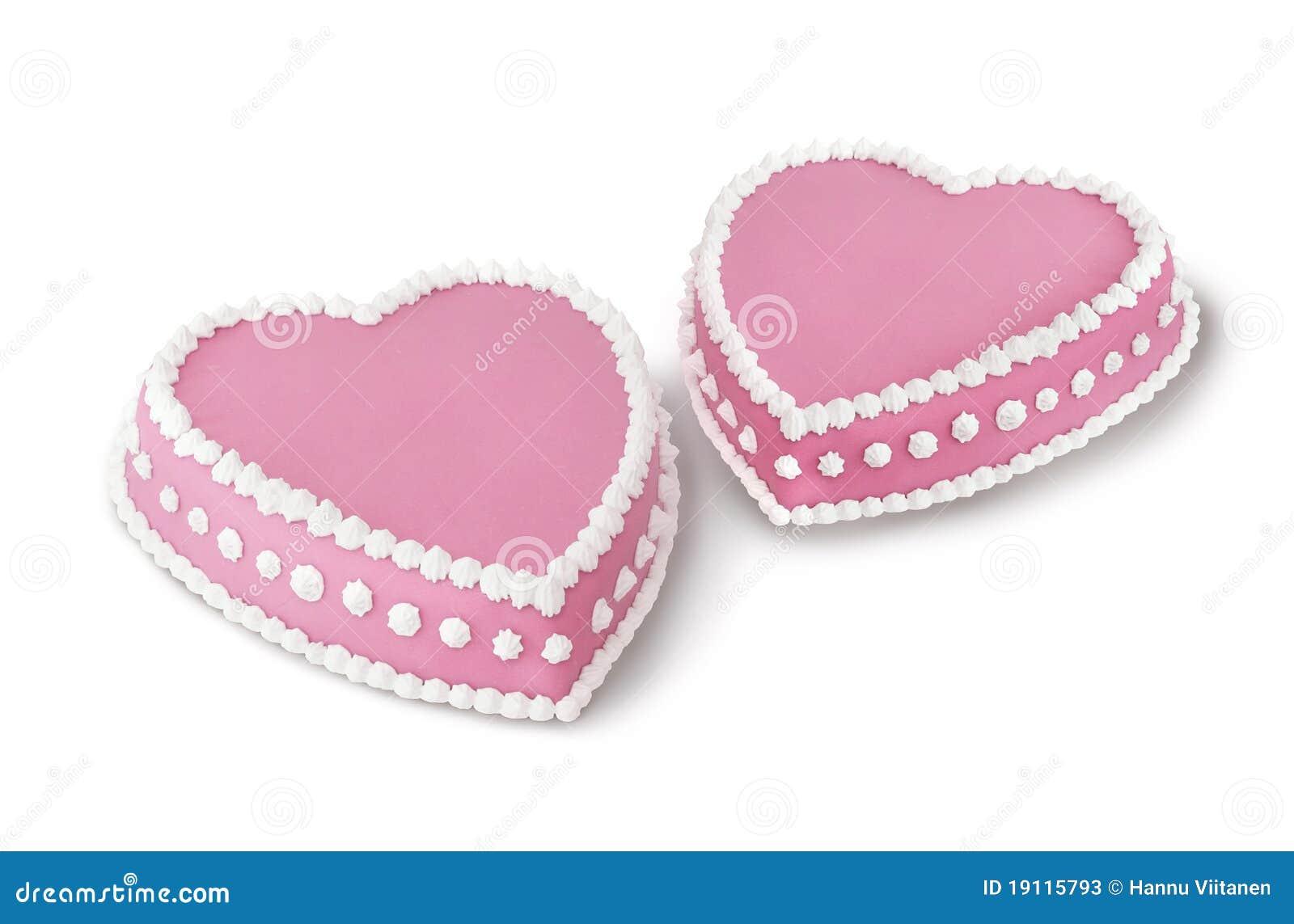 Valentin för cakes två