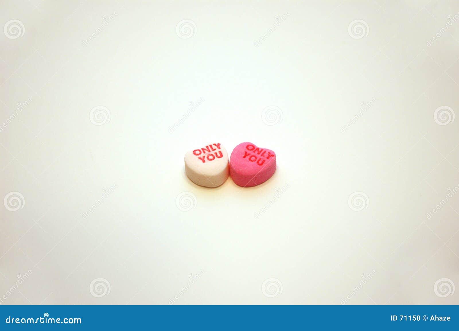 Valentin för konversationdaghjärtor s dig