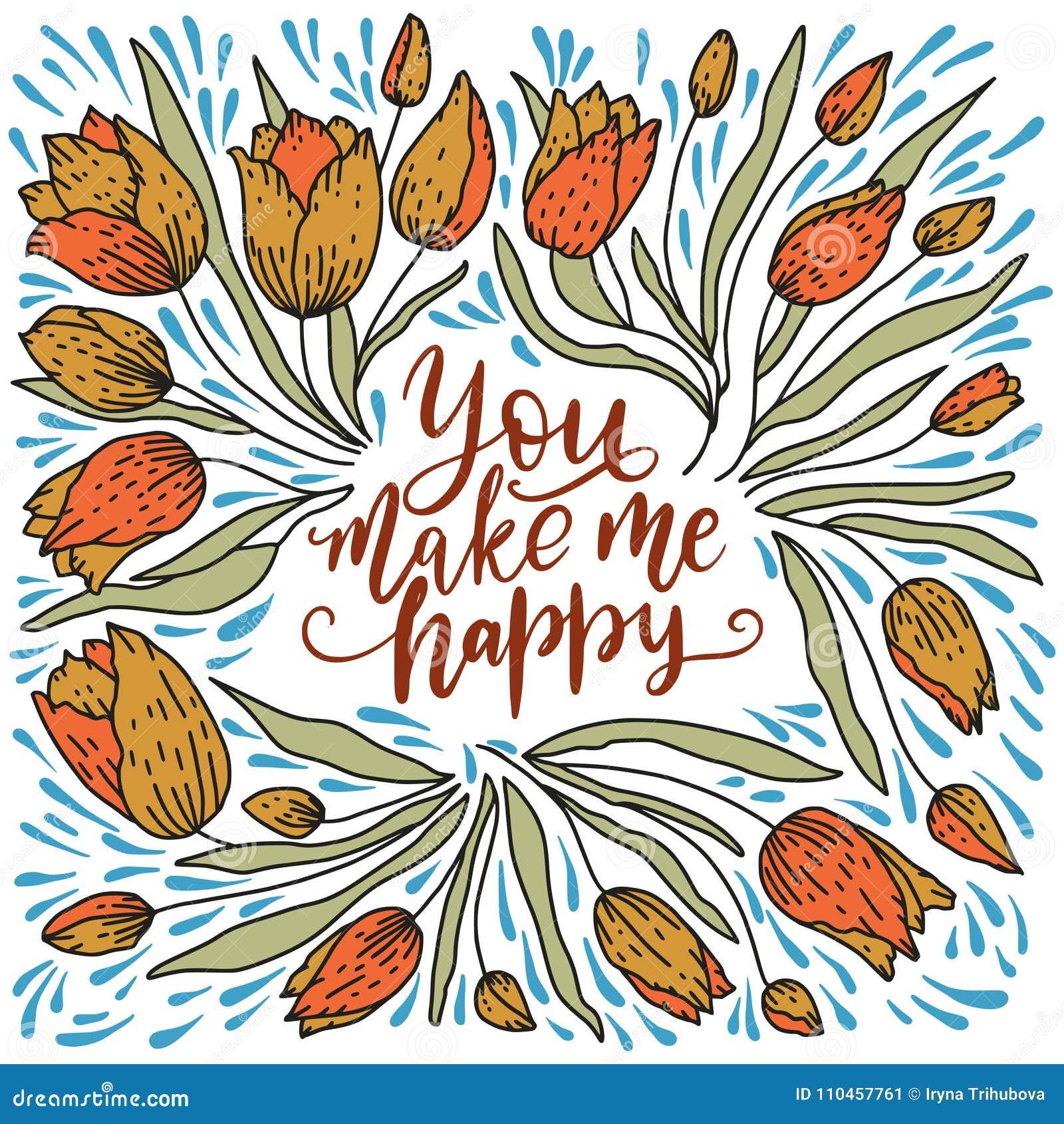 Valentindagbokstäver Handskrivet romantiskt hälsningkort