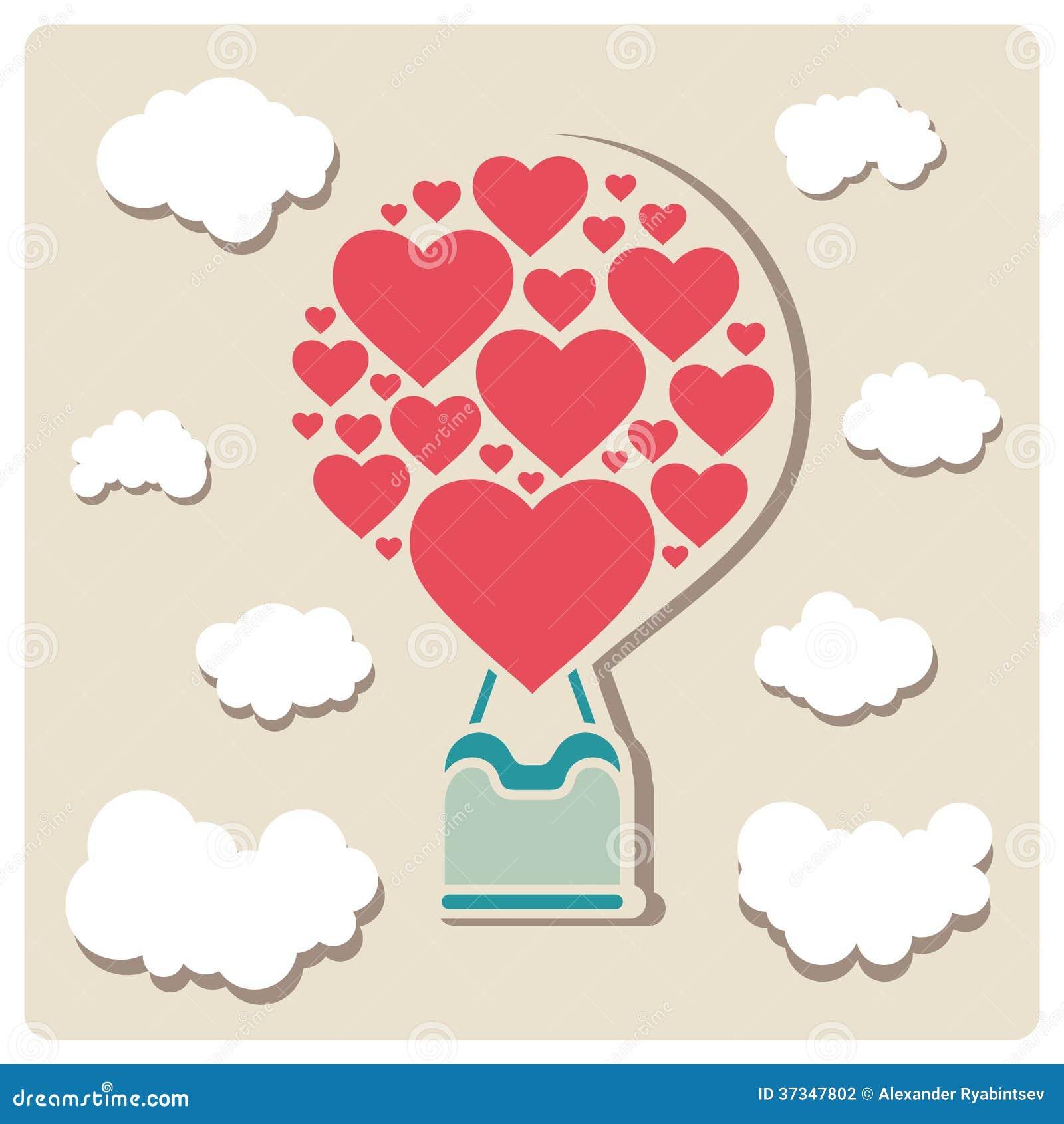 Valentindagillustrationer