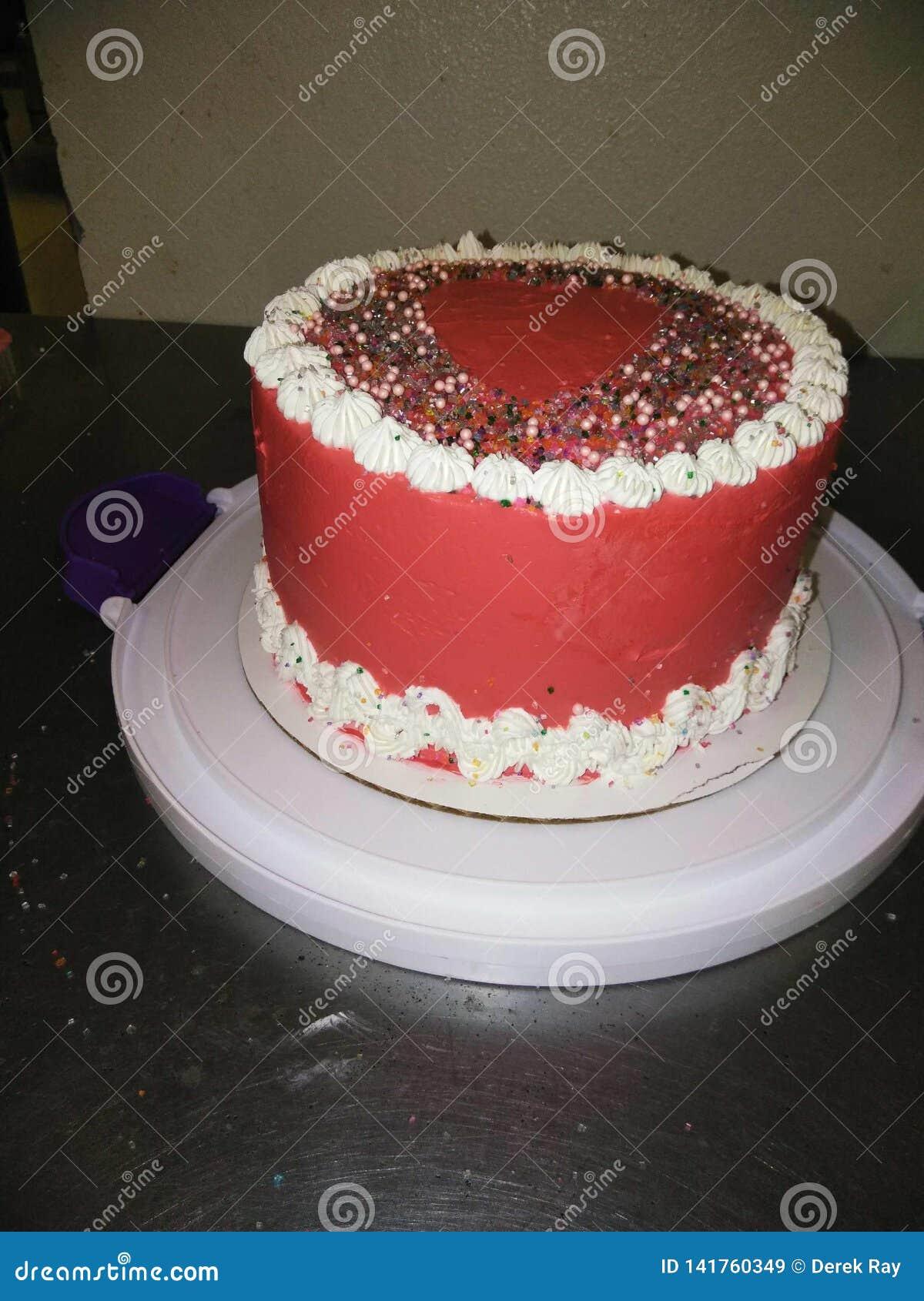 Valentine& x27 κέικ ημέρας του s