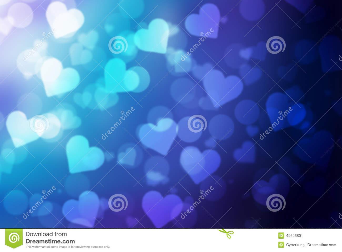 Valentine Bokeh Background Stock Image Image Of Shape