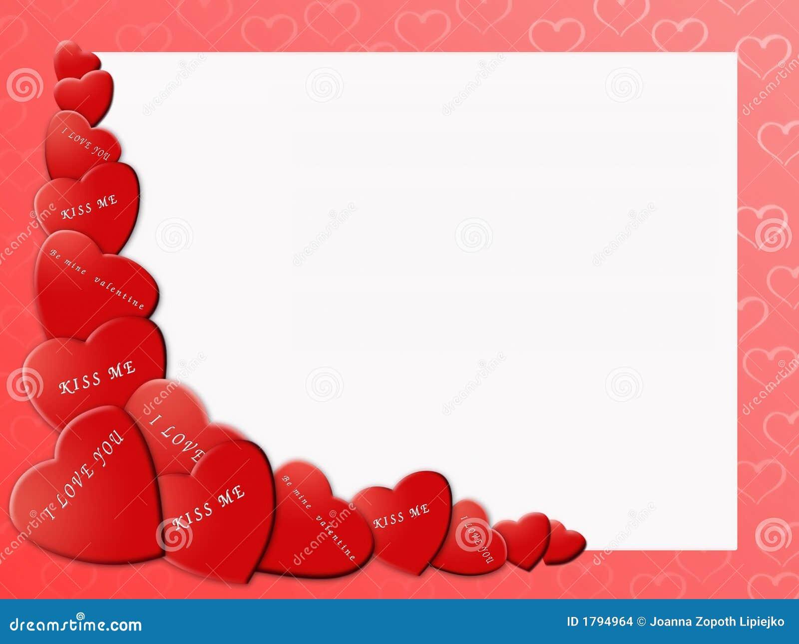 Valentine Border Stock Images - Image: 1794964