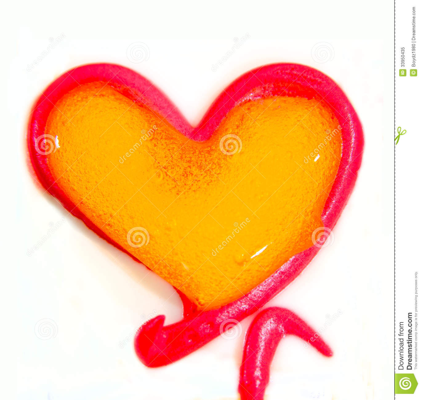 Heart Shaped Cake Stock Photos : Valentine Cake Royalty Free Stock Photo - Image: 33950435