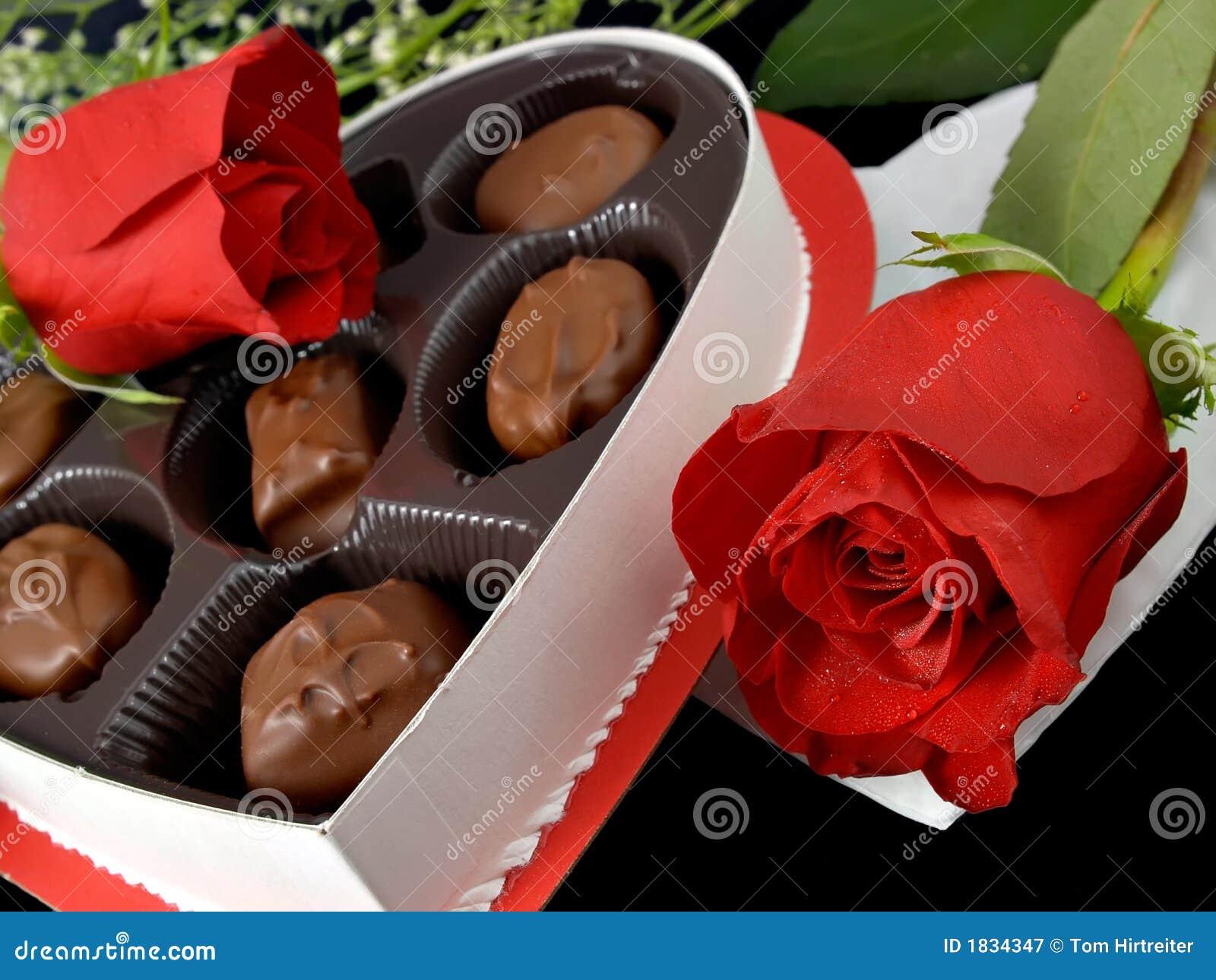 Valentine Candies & Roses