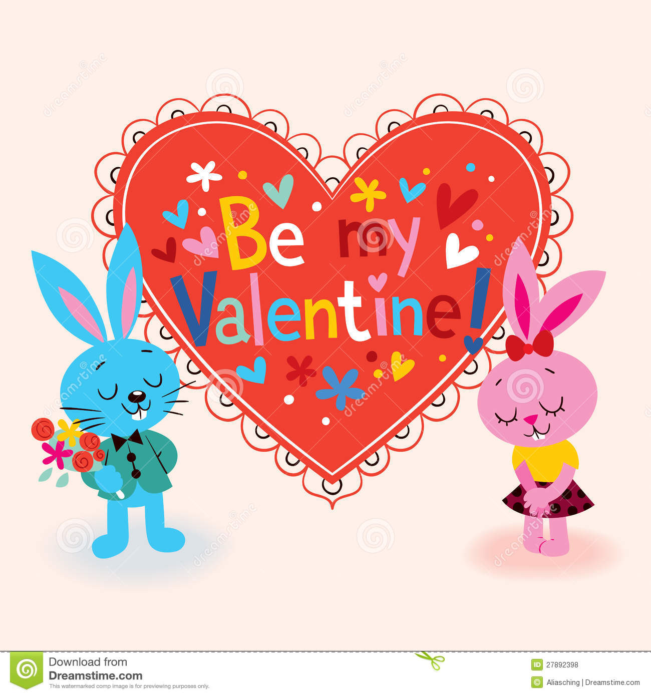 Valentine Card Royalty Free Stock Photos Image