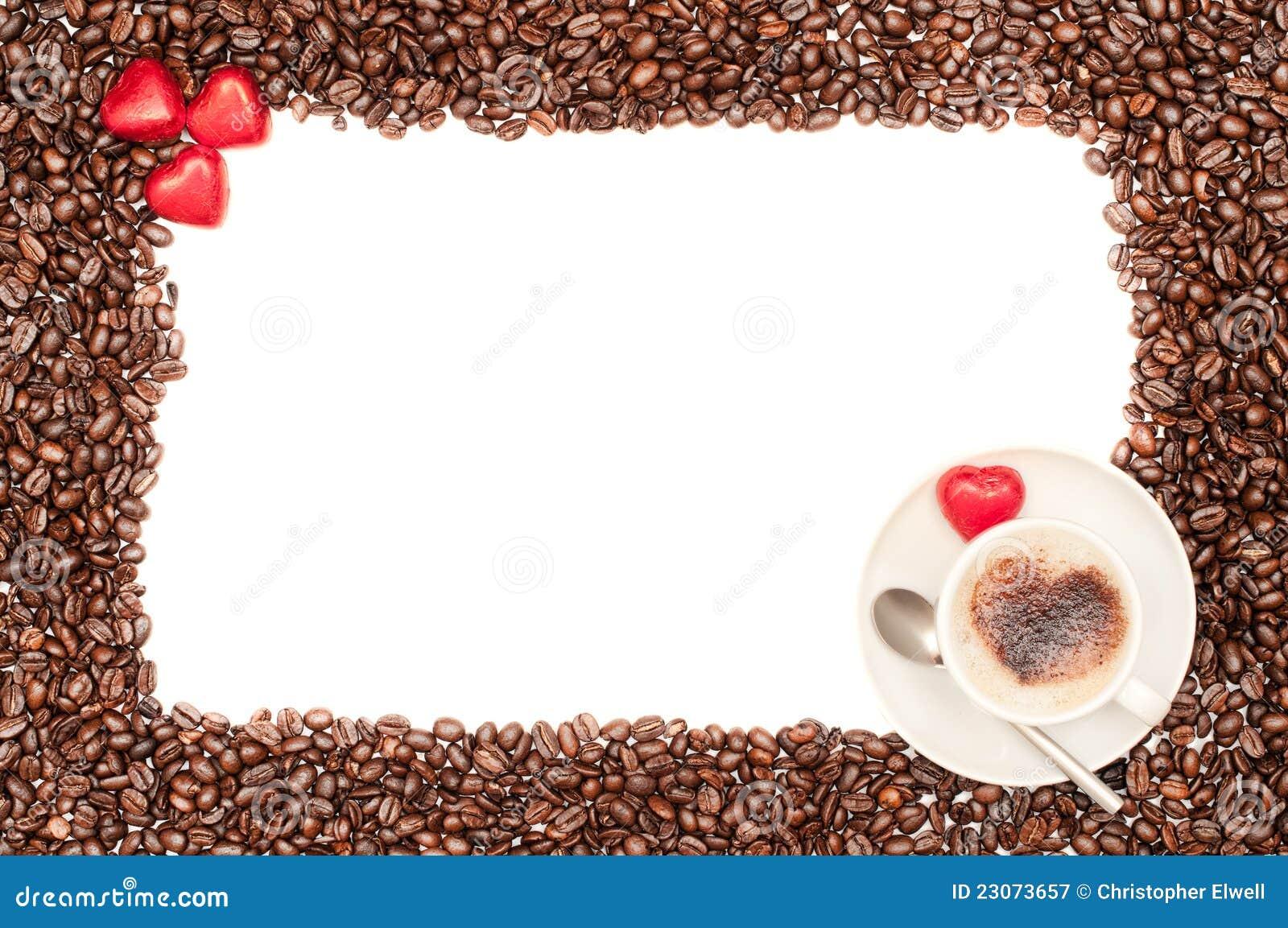 Valentine Coffee Border