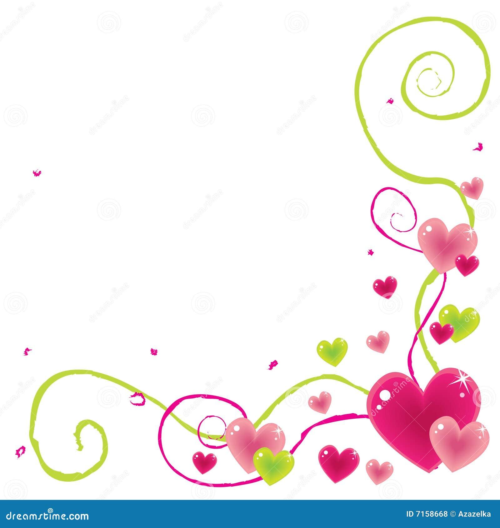 Valentine Corner Royalty Free Stock Photos - Image: 7158668
