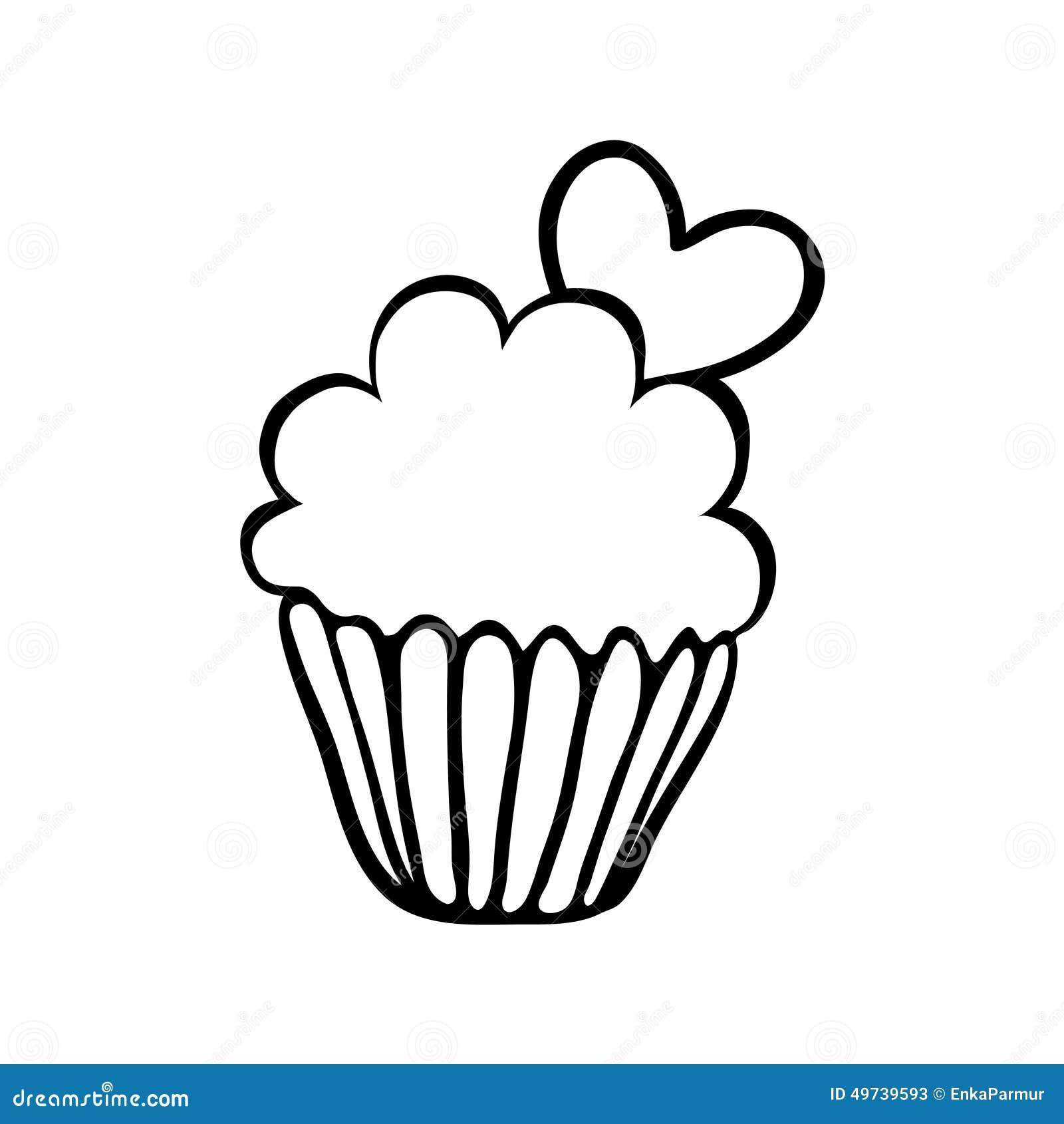 Hand Drawn Cake Vector Free