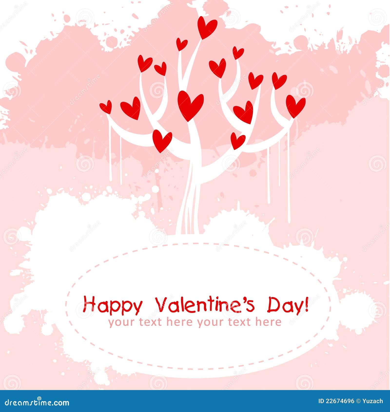 valentine day pink love invitation card stock vector. Black Bedroom Furniture Sets. Home Design Ideas