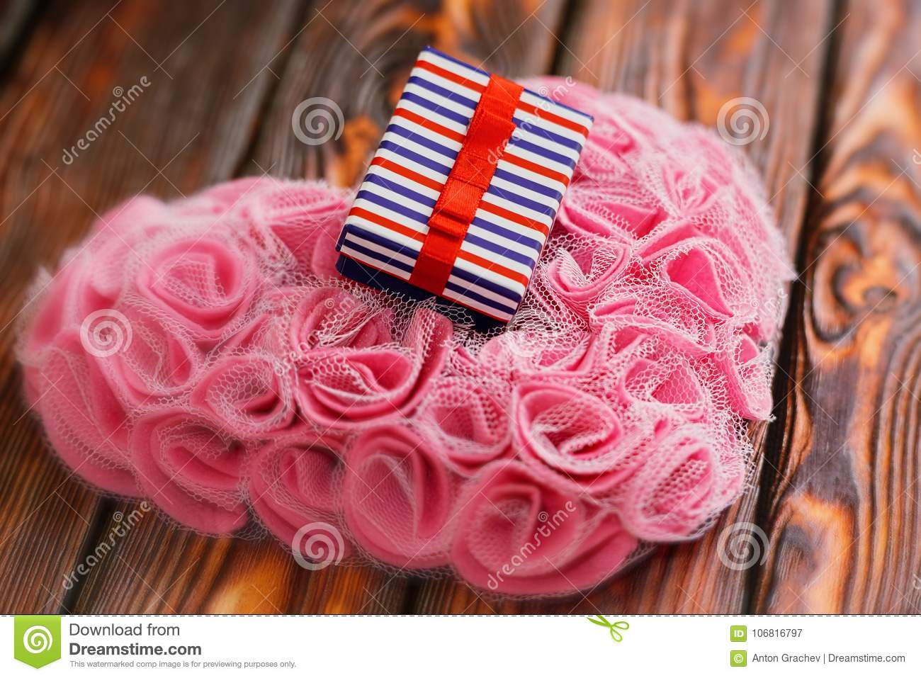 Valentine Day Present Concept Stock Image Image Of Beautiful