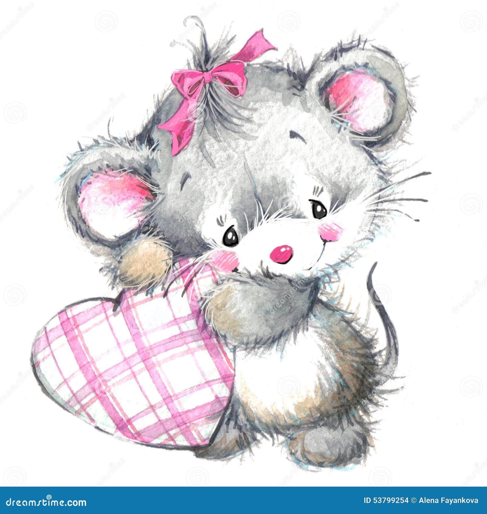 Valentine Day und nettes Tier