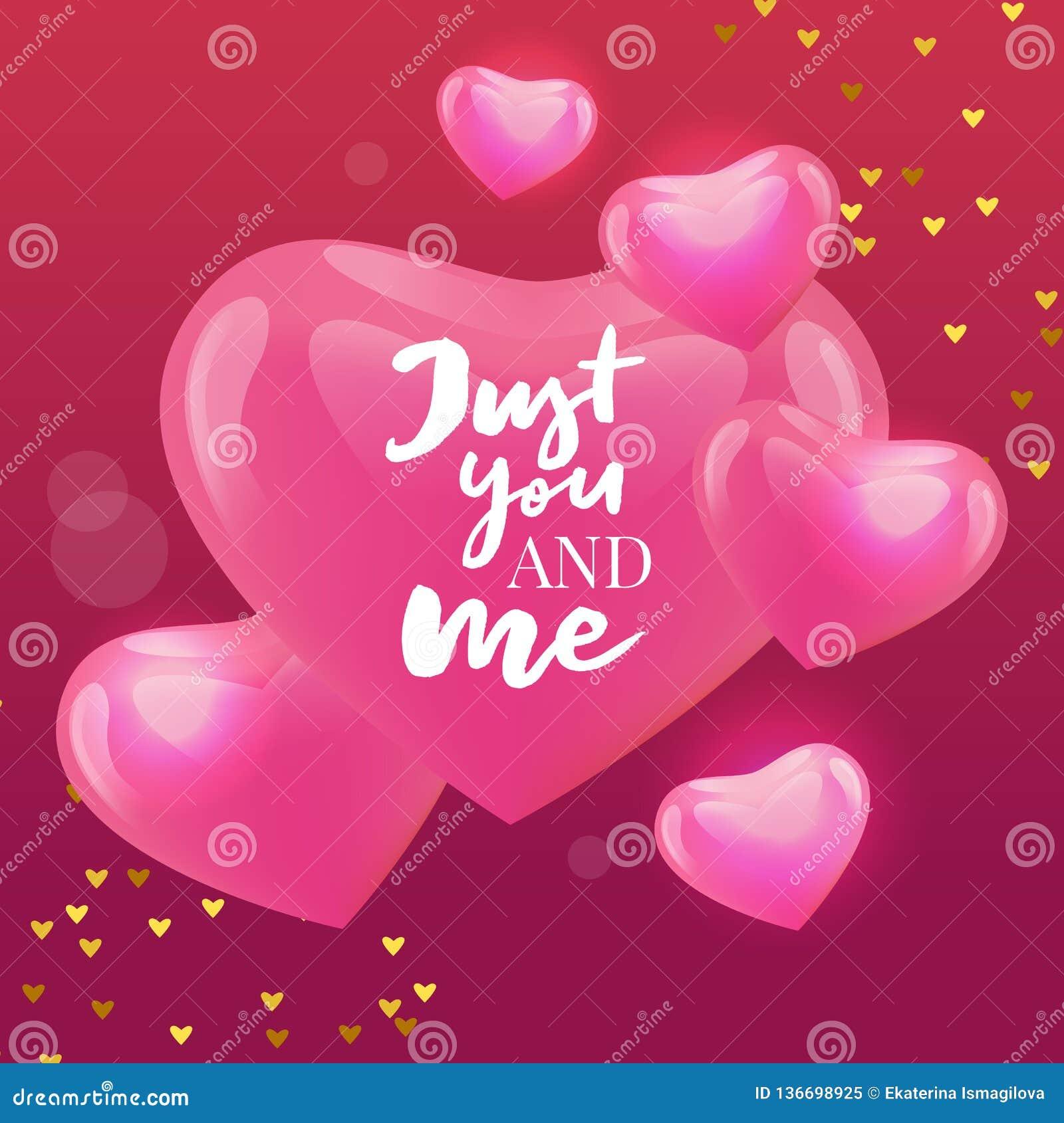 Valentine' feliz; a mão do dia de s tirada escova a rotulação com a sombra longa, isolada no fundo vermelho rico Aperfeiçoe p