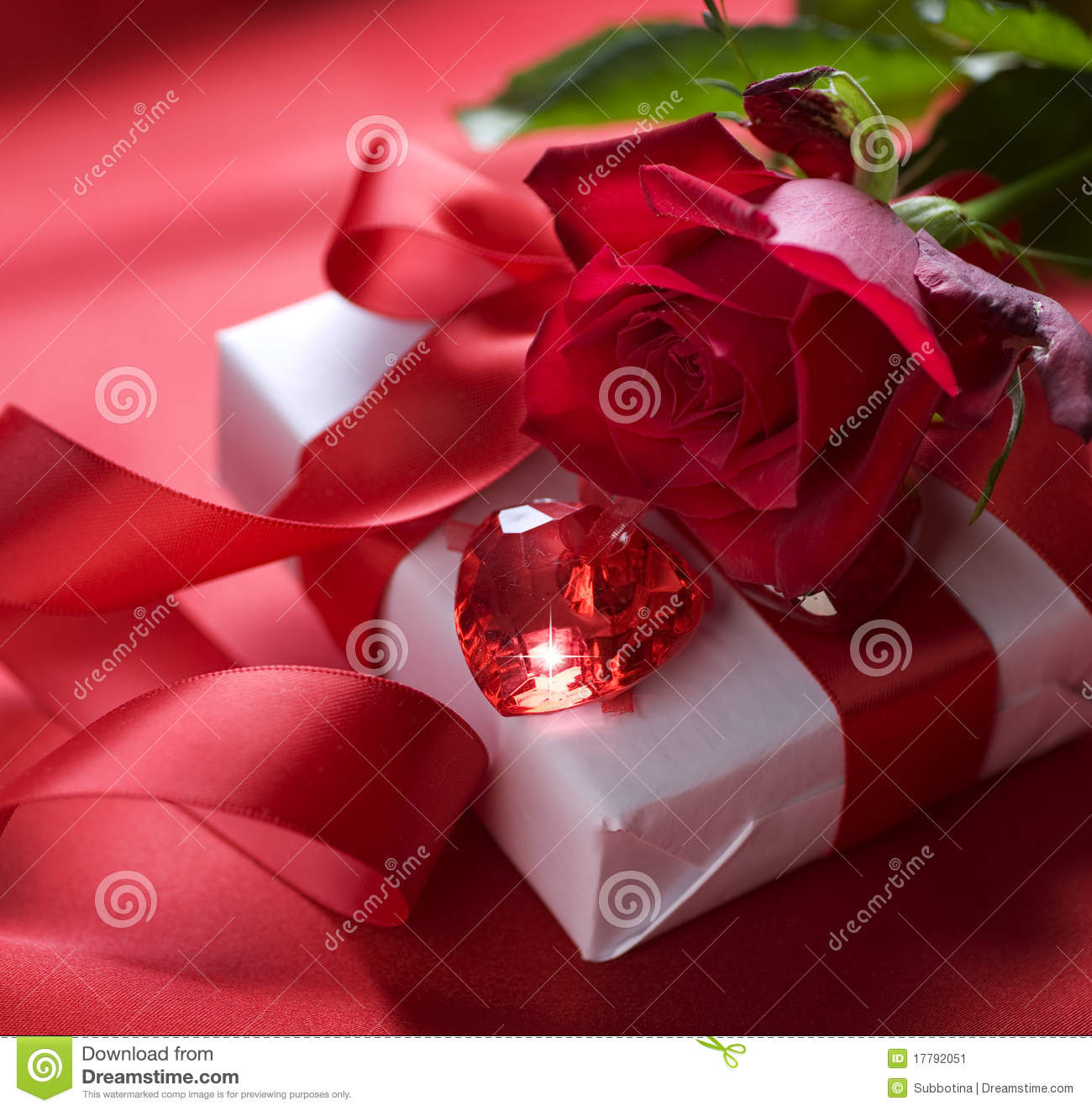 Valentine Gift Stock Image Image Of Closeup Concept 17792051