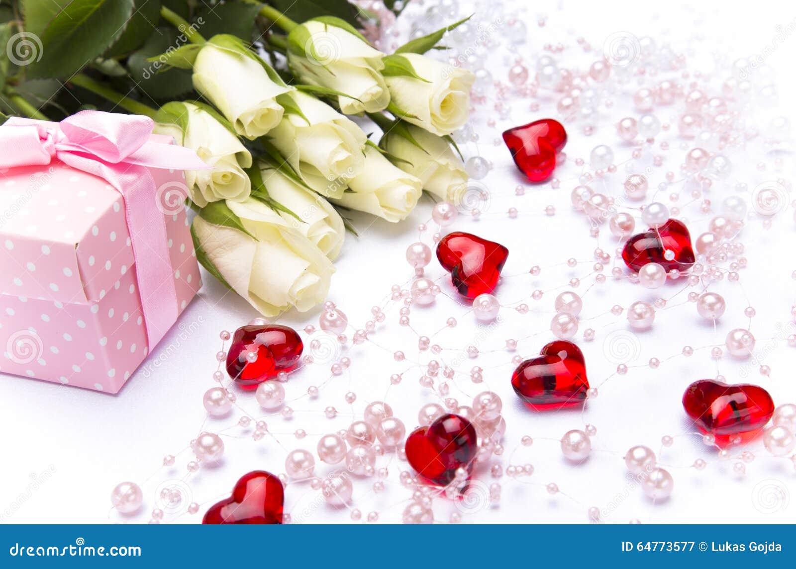Valentine Gift Background Stock Image Image Of Blurred 64773577