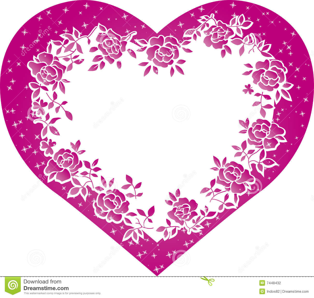 Valentine Heart Stock Photography - Image: 7448432