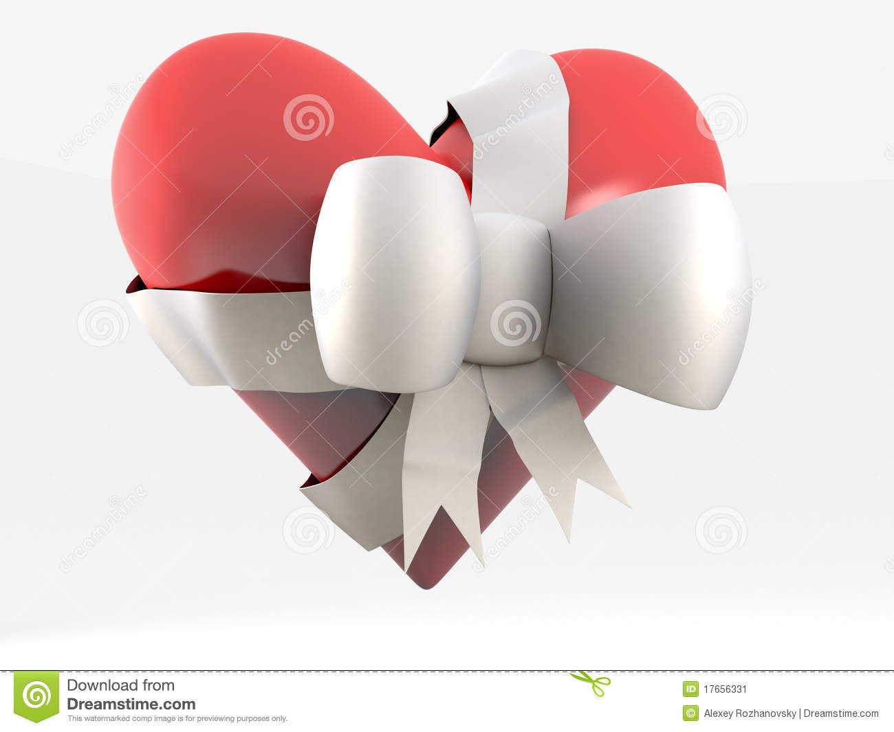 This is a photo of Old Fashioned Hearts With Bows