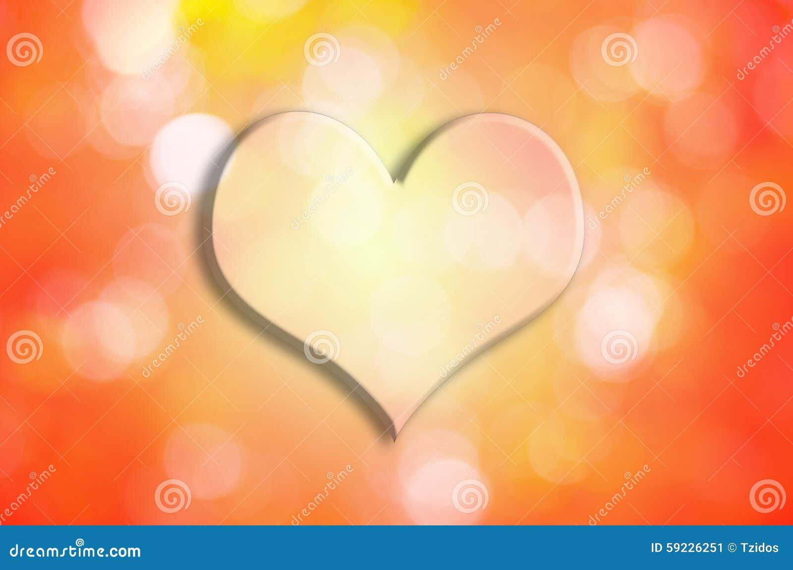 Download Valentine Heart Con El Fondo Del Bokeh Imagen de archivo - Imagen de tarjeta, color: 59226251