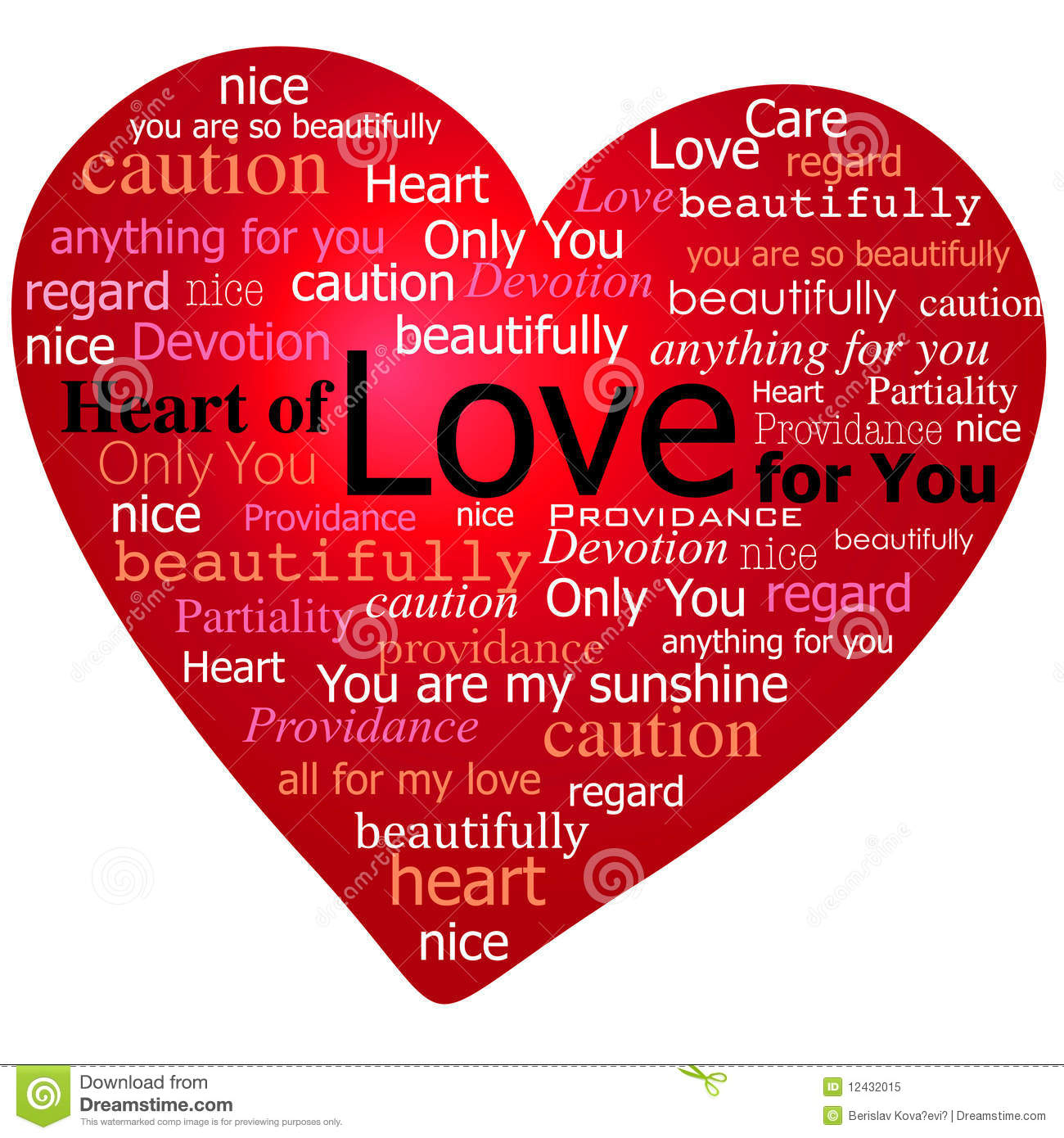 Valentine Heart of love stock vector. Image of classical ...