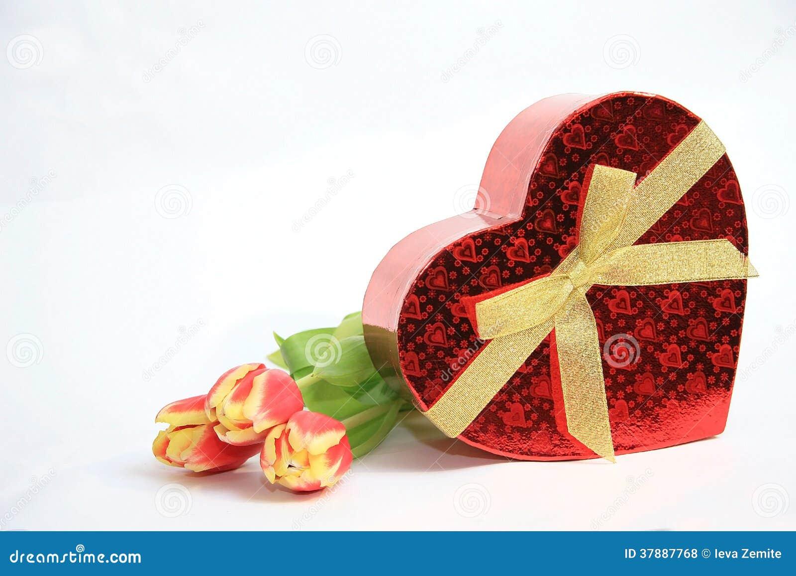 Valentine Heart Shape Gift Box
