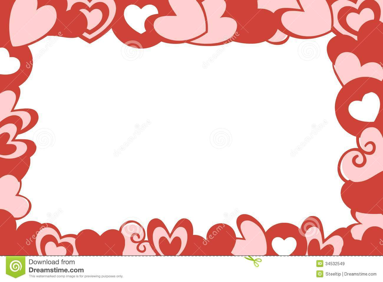 White Backgrounds With Red Designs Valentine hearts frame whiteWhite Backgrounds With Red Designs